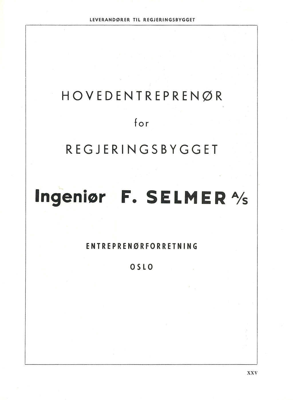 Ingeniør F. Selmer AS