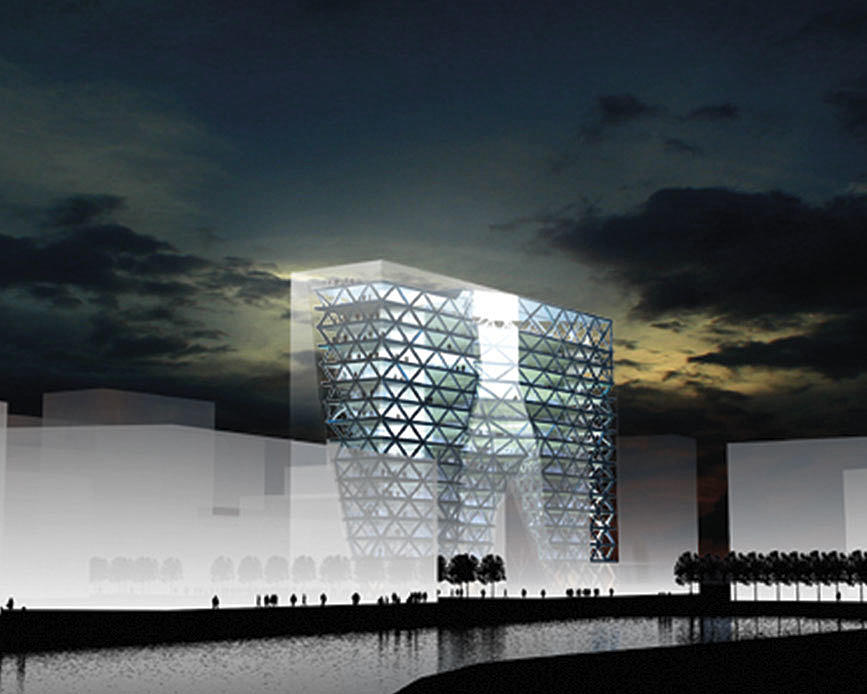"""Urban Energy"", Bjørvika, 2005. Arkitekter: Transform."
