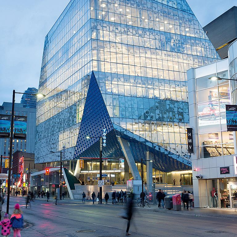 Ryerson Student Learning Centre, Toronto, Canada
